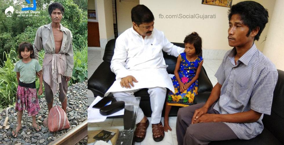 એક ગરબી બાપ દીકરીએ બચાવ્યા 2000 લોકોના જીવ | આ ક્રિકેટરે ગણાવ્યા પિતા-પુત્રીને દેશના અસલી હીરો | શેર કરજો .