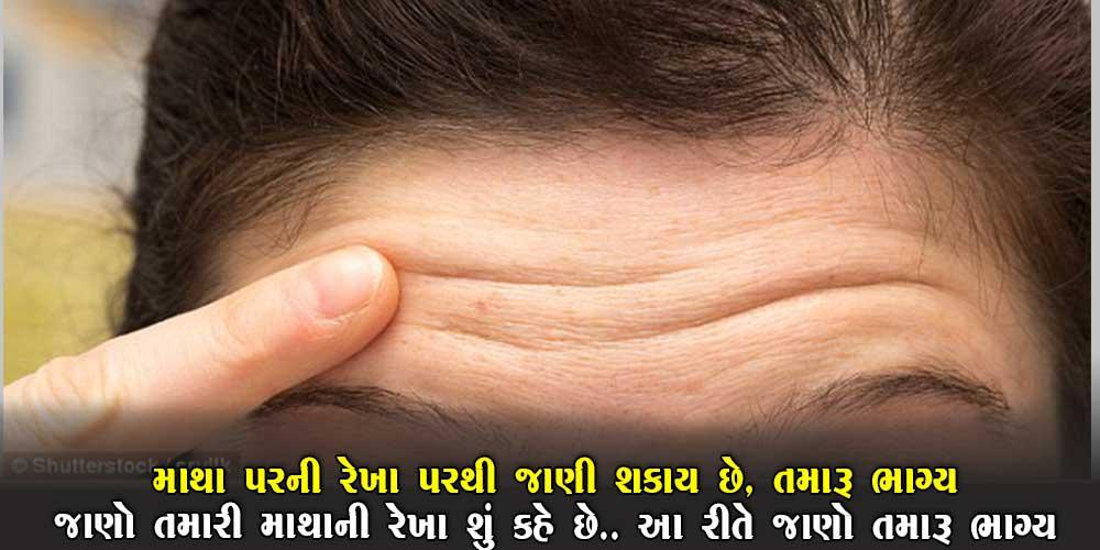 માથાની રેખાઓ બતાવે છે ભાગ્ય… તમારા માથા પર કેટલી રેખા છે? તેના પરથી જાણો ભાગ્ય.