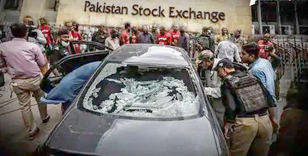 પાકિસ્તાનના કરાચીમાં જ થયો હુમલો,   જાણો આ રીતે થયો હતો આંતકી હુમલો. જાણો સમગ્ર માહિતી.